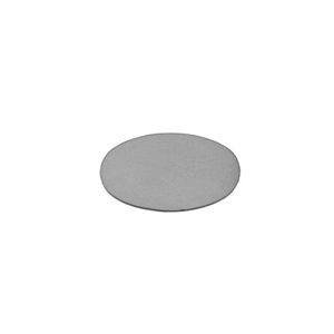 "Sterling Silver Shape - Oval - 1/2"" x 3/4"" Pkg - 1"