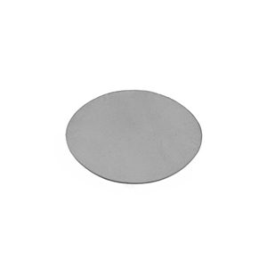 "Sterling Silver Shape - Oval - 3/4"" x 1-1/32"" Pkg - 1"