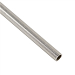 ".999 Fine Silver Seamless Tubing, Soft - 3.25mm OD - 4"" Length"