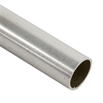 ".999 Fine Silver Seamless Tubing, Soft - 9.53mm OD - 4"" Length"