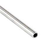 ".925 Sterling Silver Tube - 2.54mm (.100"") OD, 0.31mm (.012"") Wall"