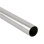 ".925 Sterling Silver Tube - 12.70mm (.500"") OD, 0.41mm (.016"") Wall"