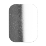 .999 Fine Silver Shape - Rounded Rectangle - 12 x 16mm