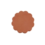 Copper Shape - Flower - 12mm Pkg - 10
