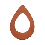 Copper Shape - Drop - 24 x 34.5mm