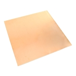 Metal Sheet - Copper - Square 6""