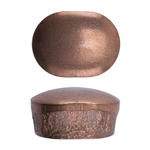 Metal Copper Bits - Oval 9x12mm