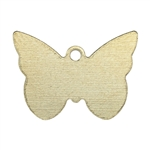 Brass Blank - Butterfly - 15 x 21mm