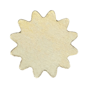 Brass Blank - Sun - 11mm Pkg - 10