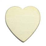 Brass Blank - Heart - 17.5 x 18mm