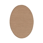Copper Shape - Oval - 18mmx13mm  Pkg - 6