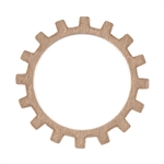 "Copper Shape - Gear - 3/4""  Pkg - 6"