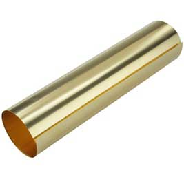 Creative Metal Brass Metal Roll