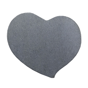 "Nickel Shape - Swirly Heart - 3/4"" Pkg - 4"