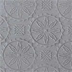 Mega Texture Tile - Western Wagon Wheels Embossed
