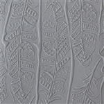 Mega Texture Tile - Tribal Feather Fineline
