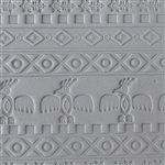 Mega Texture Tile - Tribal Spirits Embossed