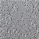 Mega Texture Tile - Simple Leaves Embossed