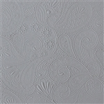 Mega Texture Tile - Waves of Paisley Embossed