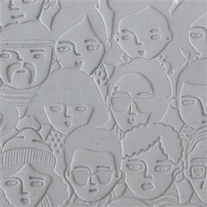 Mega Texture Tile - A Face in the Crowd