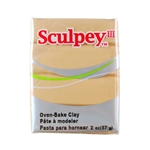 Sculpey III Polymer Clay - Tan 2 oz block