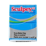 Sculpey III Polymer Clay - Turquoise 2 oz block