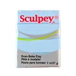 Sculpey III Polymer Clay - Sky Blue 2 oz block