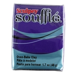 Sculpey Souffle Polymer Clay - Royalty 2 oz block