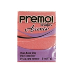 Premo Accent Sculpey Polymer Clay - Sunset Pearl 2 oz block