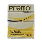 Premo Sculpey Polymer Clay - Rhino Gray 2 oz block