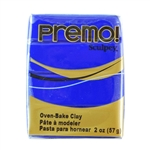 Premo Sculpey Polymer Clay - Ultramarine Blue 2 oz block