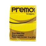 Premo Sculpey Polymer Clay - Cadmium Yellow 2 oz block