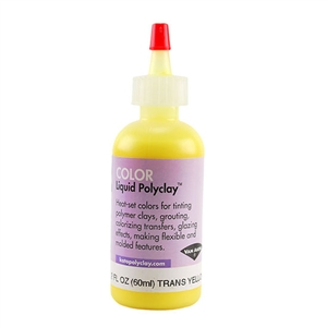 Color Liquid Polyclay - Translucent Yellow 2 oz
