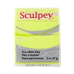 SSculpey III Polymer Clay - Acid Yellow 2 oz block