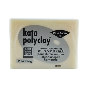 Kato Polyclay - Translucent 2 oz block