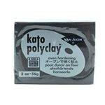 Kato Polyclay - Black 2 oz block