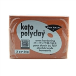 Kato Polyclay - Brown 2 oz block