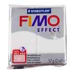 FIMO® Polymer Clay - Translucent White #014 2 oz block