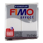 FIMO® Polymer Clay - Glitter White #052 2 oz block