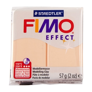 FIMO® Polymer Clay - Peach #405 2 oz block