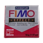 FIMO® Polymer Clay - Metallic Ruby Red #28 2 oz block