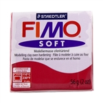 FIMO® Polymer Clay - Cherry Red #26 2 oz block