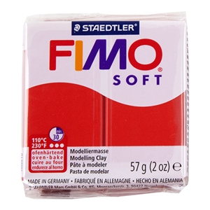 FIMO® Polymer Clay - Indian Red #24 2 oz block