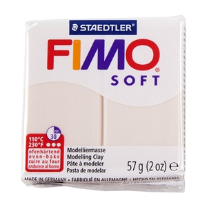 FIMO® Polymer Clay - Flesh Light #43 2 oz block
