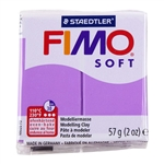 FIMO® Polymer Clay - Lavender #62 2 oz block