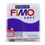 FIMO® Polymer Clay - Plum #63 2 oz block