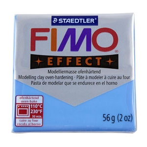 FIMO® Polymer Clay - Translucent Blue #374 2 oz block
