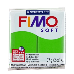 FIMO® Polymer Clay - Tropical Green #53 2 oz block