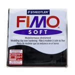 FIMO® Polymer Clay - Black #9 2 oz block