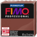 FIMO® Professional Clay - Chocolate #77 - 2 oz block